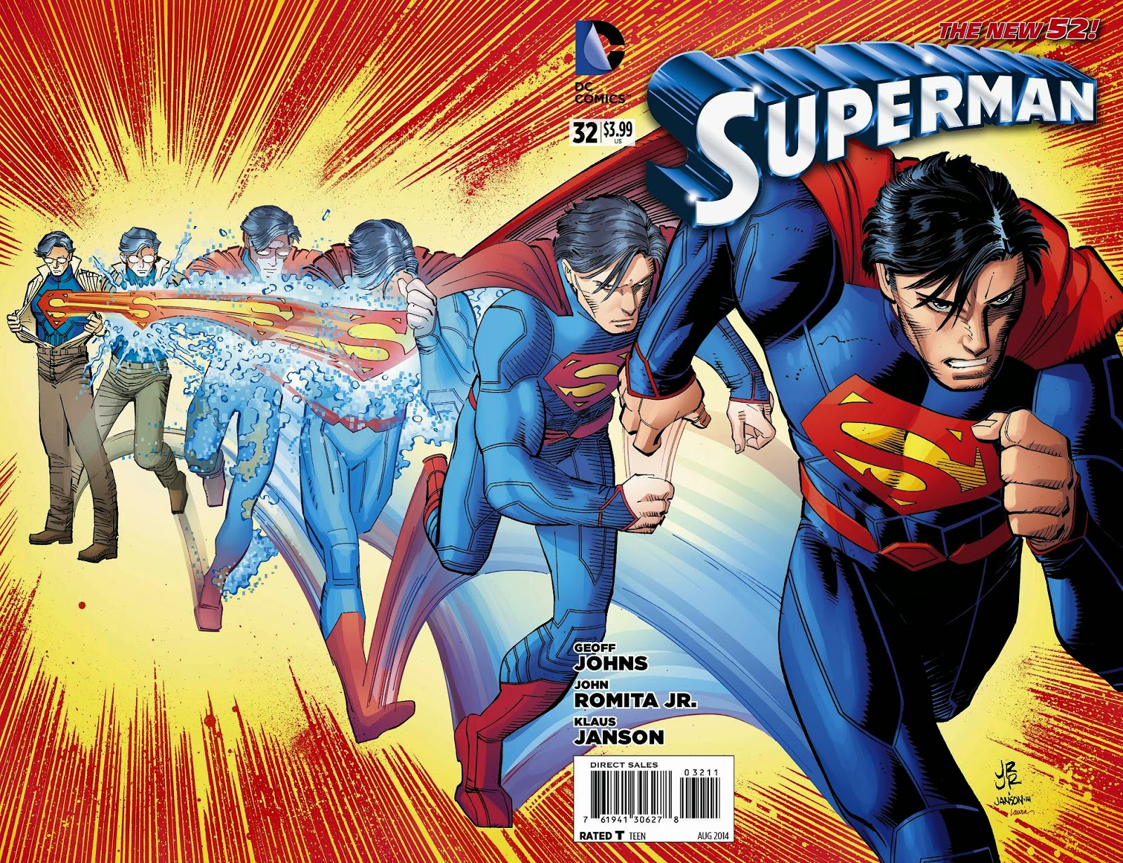 Superman L'homme de demain tome 1 dans culte Superman+32+Wrap+Around+Cover