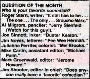 Al Milgrom: Prophet of Pop Culture to Come! (Shame about the spelling, though...)
