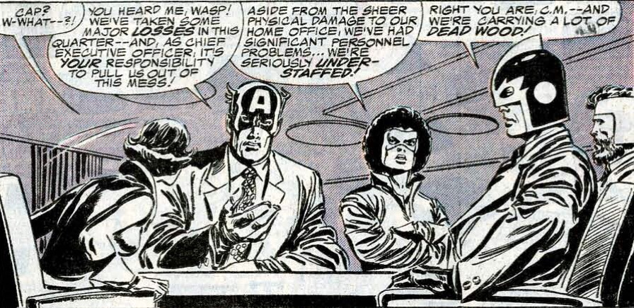 Welcome to Marvel's Corporate Structure, Avengers! Hope you survive the experience!