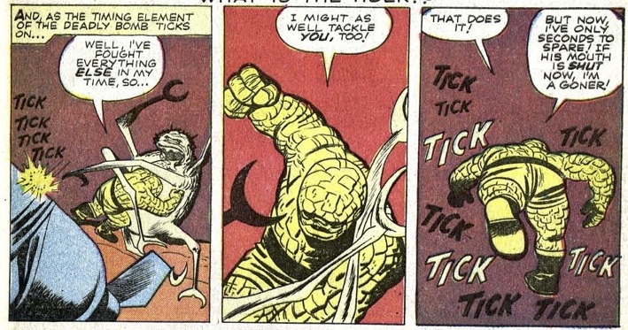The Tick Tick Tick panels that Jeff and I both love so much.