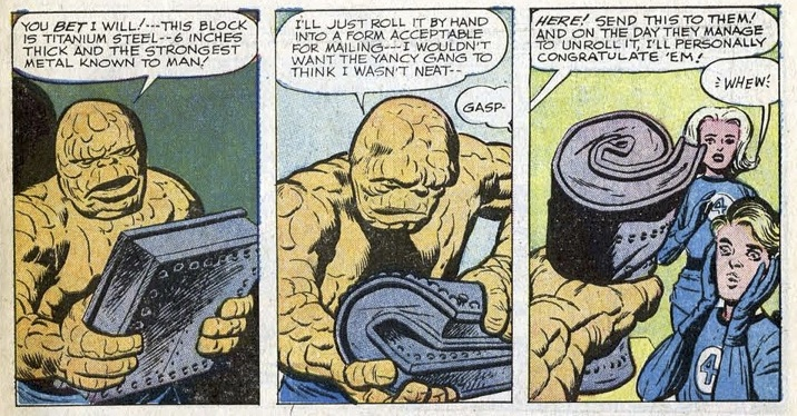 The Yancy Street Gang's main purpose in their first appearance? Humanizing the Thing.