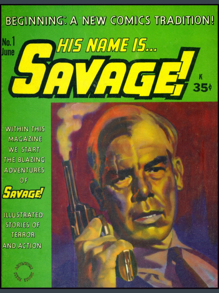 Savage cover