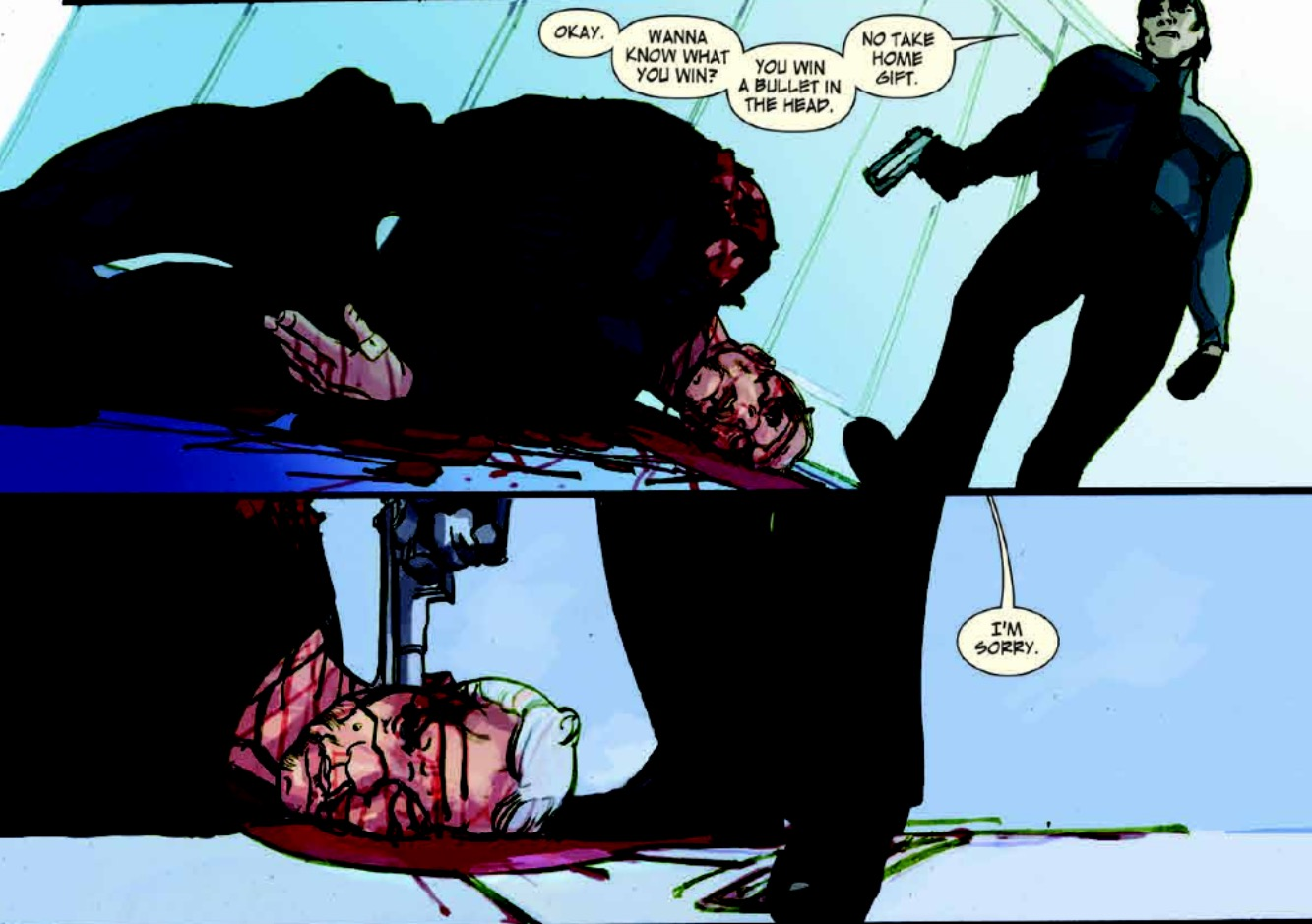 Matt Lives Through The Last Days Of American Crime And An Issue Of Jla Wait What
