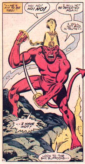 Satan and his hat