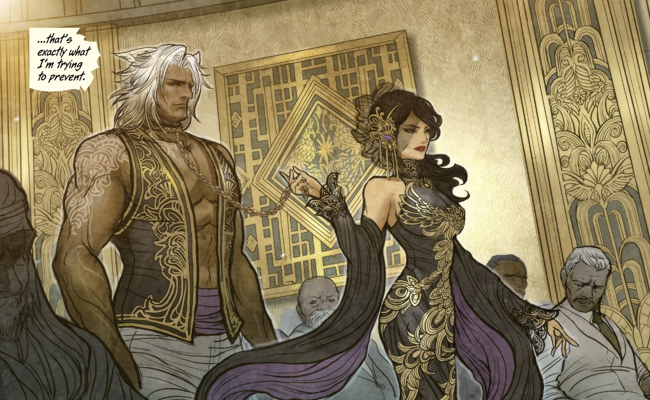 Review and Brew: Monstress by Marjorie Liu : Fantasy
