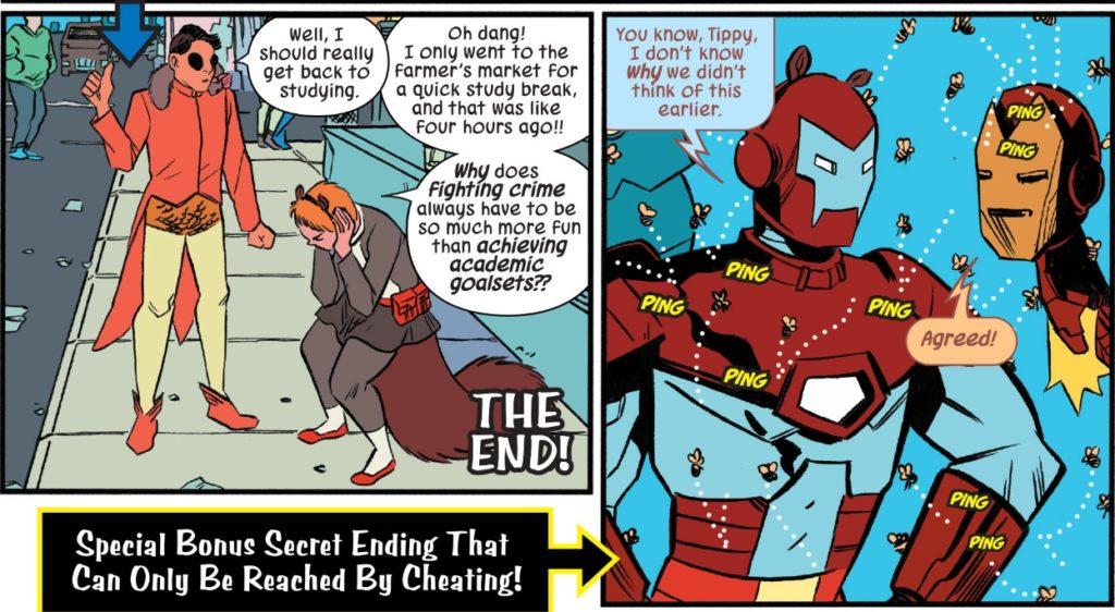 secret ending
