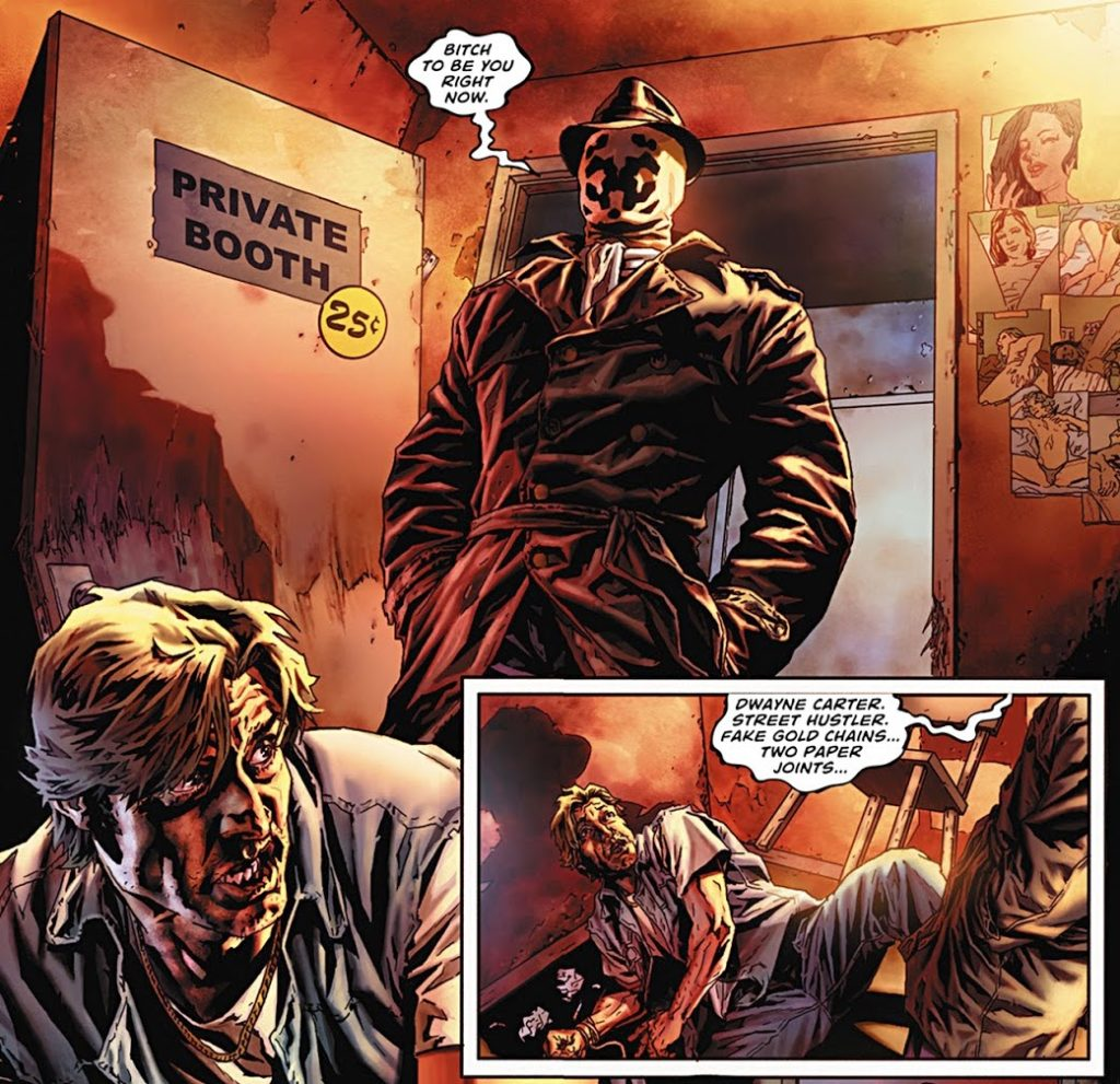 the contrast between the ozymandias and rorschachs in the watchmen by alan moore Teaching and learning resources for the graphic novel watchmen by alan moore though moore's watchmen is a graphic novel, its depth and sophistication is such that it made time 's all-time 100 novels list (more specifically, the 100 best english-language novels published since 1923.
